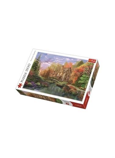 Art Puzzle Art Puzzle Cottage By The Lake 1500 Parça Puzzle  Renksiz